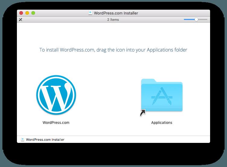 instalar WordPress.com en mac