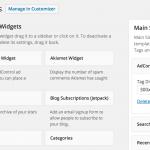 Widget para insertar anuncios