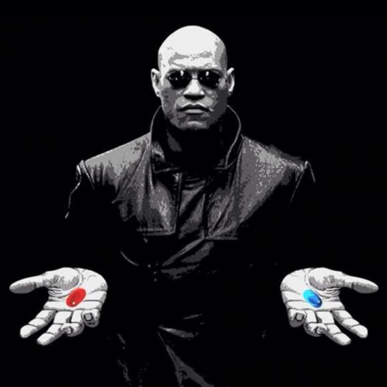 morfeo elige pastilla azul o roja