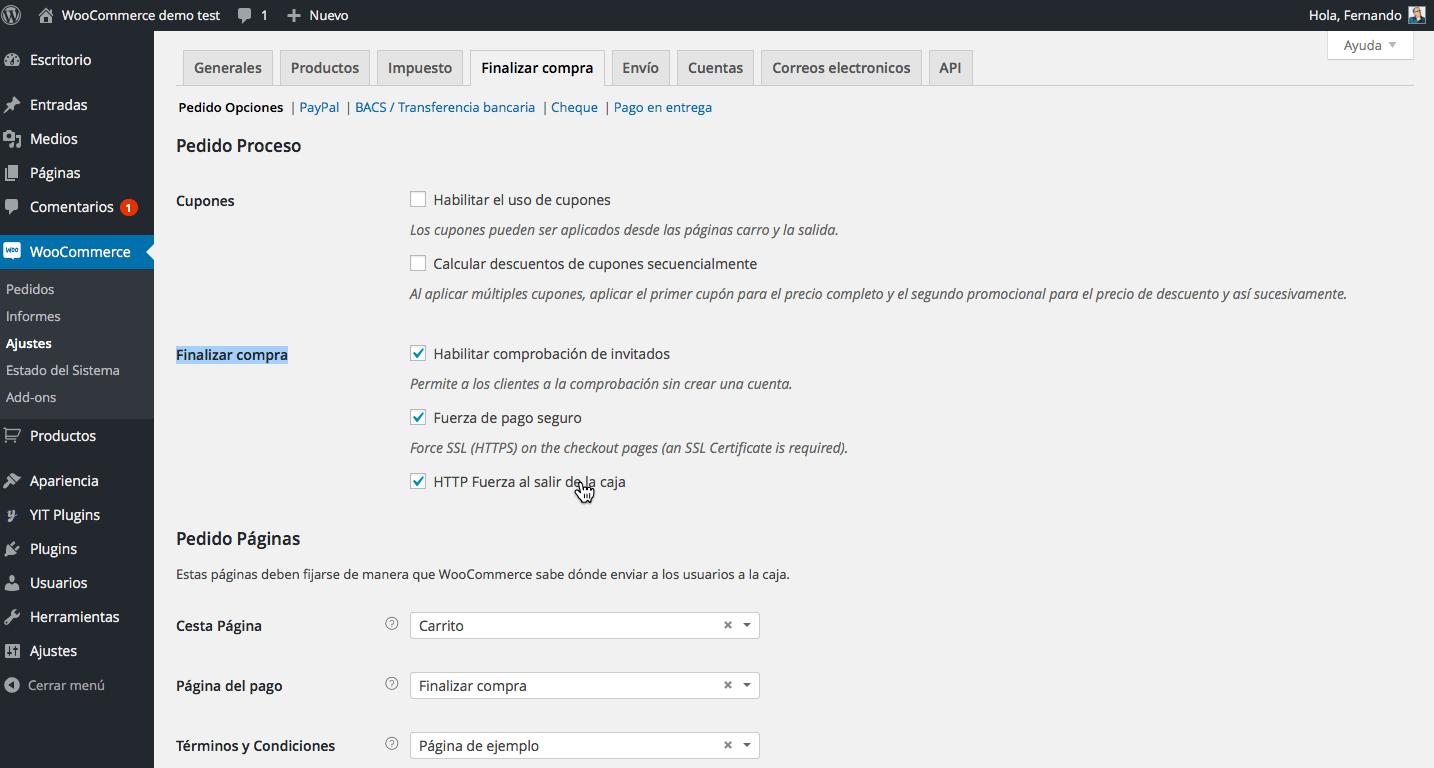 SSL y HTTPS en WooCommerce • Ayuda WordPress
