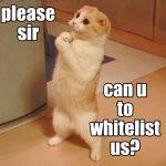 whitelist adblock