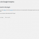 autorizar plugin analytics 1