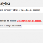 autorizar plugin analytics 2