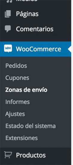 menu-zonas-envio-woocommerce