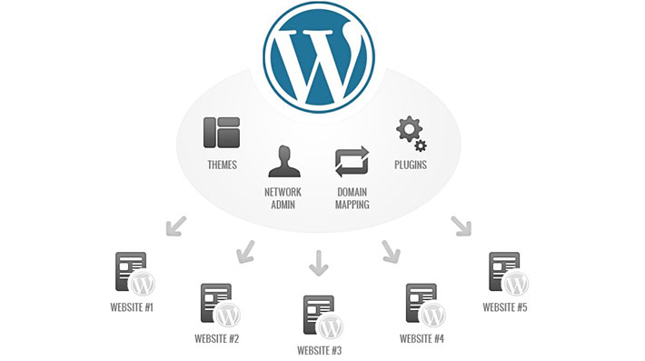 WordPress multisitio