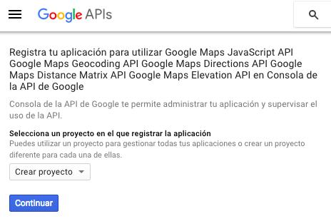 1-crear-proyecto-consola-desarrolladores-google