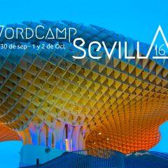 ¡Nos vemos en WordCamp Sevilla 2016!