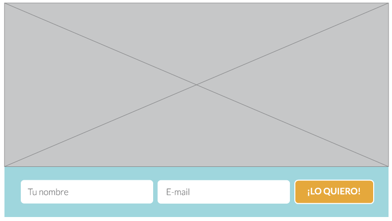 Email Optin de Divi a ancho completo