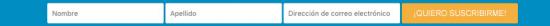 Email Optin de Divi con ancho completo
