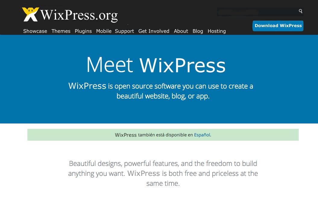 Wix libera su código y se llamará WixPress para competir con ...
