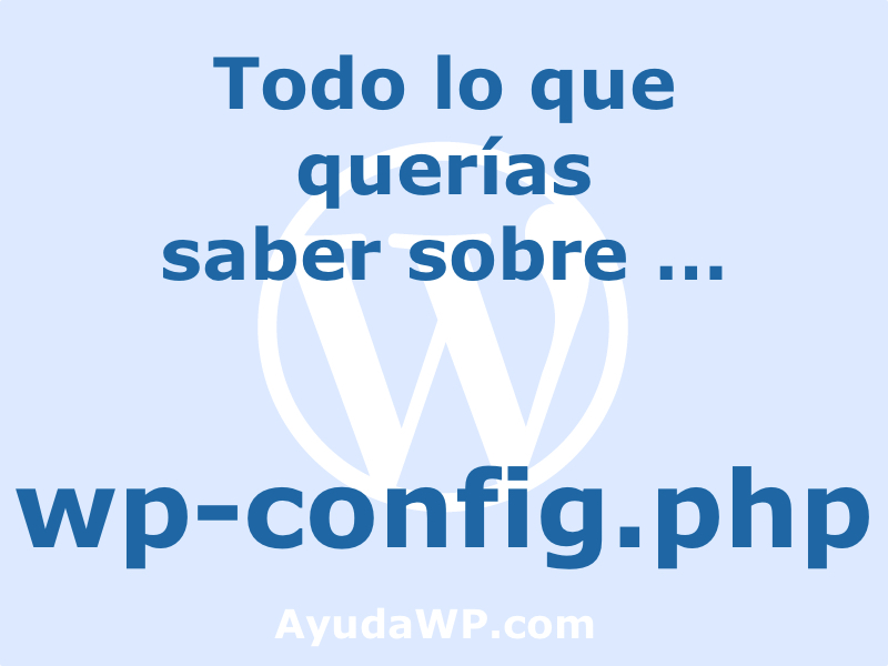 wp-config.php guia completa