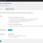 Telegram en WordPress