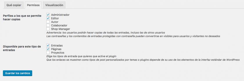 Cómo duplicar o clonar cualquier tipo de contenido en WordPress ...