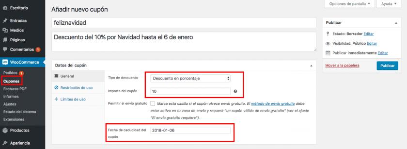 Cómo aplicar cupones de descuento automáticamente en WooCommerce ...