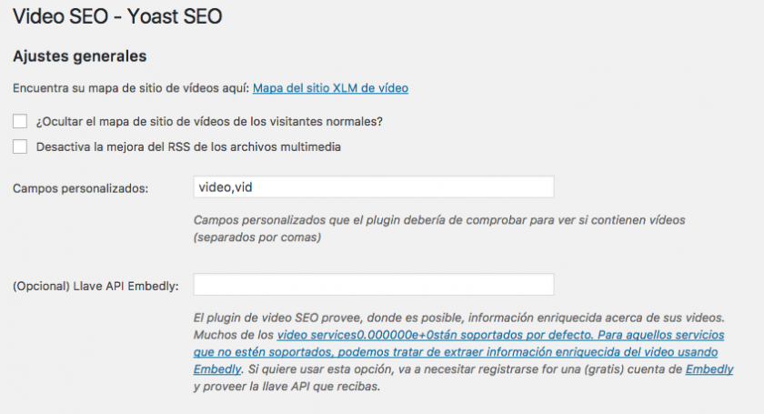 Fragmentos enriquecidos (rich snippets) de vídeo en WordPress ...