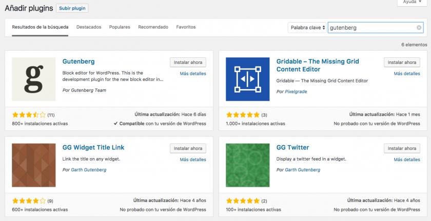 ¿Qué es eso del proyecto Gutenberg para WordPress?