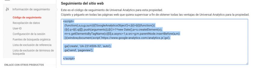 Cómo añadir el código de seguimiento de Google Analytics a WordPress ...
