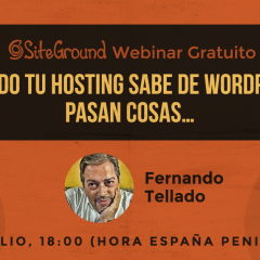 Cuando tu hosting sabe de WordPress pasan cosas… (webinar gratuito)