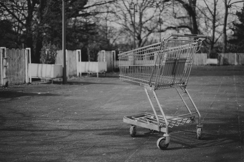 carro abandonado tienda online