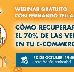 Cómo recuperar el 70% de las ventas en tu e-commerce (vídeo)