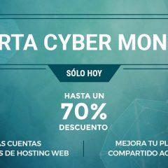 70% descuento en todos los planes de hosting @SiteGround_es y renovaciones #CyberMonday
