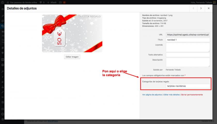 Cómo vender tarjetas o vales regalo en WooCommerce con WordPress