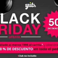 Plugins para WooCommerce al 50% en el #BlackFriday de @Yithemes