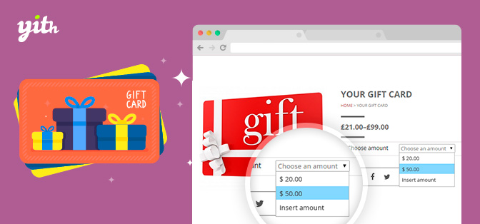 tarjetas regalo woocommerce wordpress
