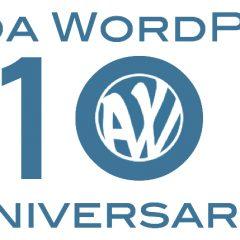 Total nada, 10 años ya de Ayuda WordPress ¿lo celebramos? #10AniversarioAyudaWP
