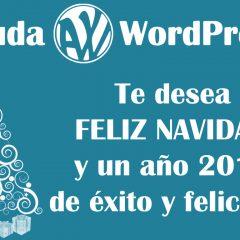 ¡Felices fiestas y un 2018 lleno de WordPress para todos!