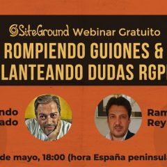 RGPD – Rompiendo guiones y planteando dudas (webinar gratuito)