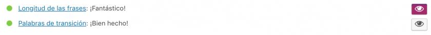 indicadores de mejora de legibilidad de yoast seo