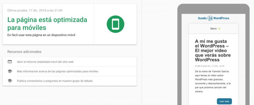 web optimizada moviles