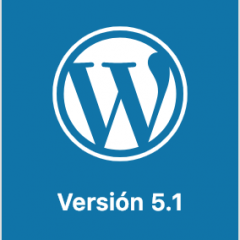 A partir de WordPress 5.1 ningún plugin romperá la administración