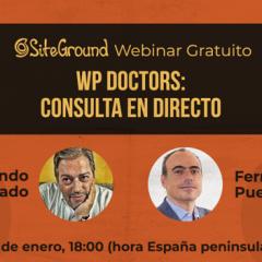 WP Doctors: Pregunta en directo tus dudas sobre WordPress