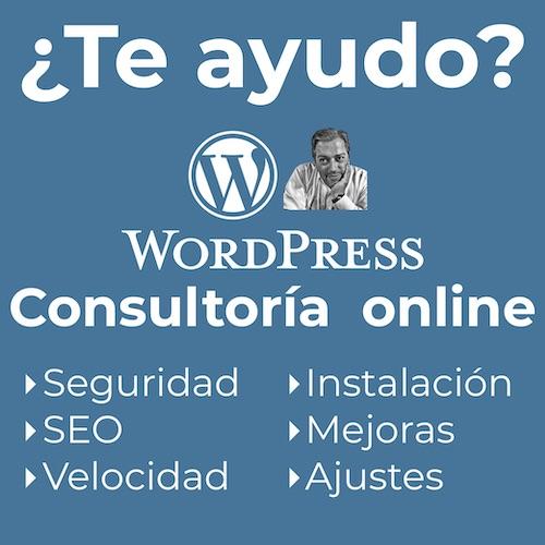 Consultoría WordPress experto online con Fernando Tellado