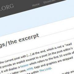 Cómo personalizar la longitud de los extractos por caracteres, palabras o párrafos