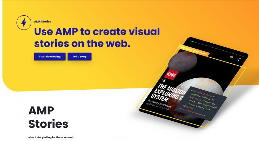 amp stories anuncio