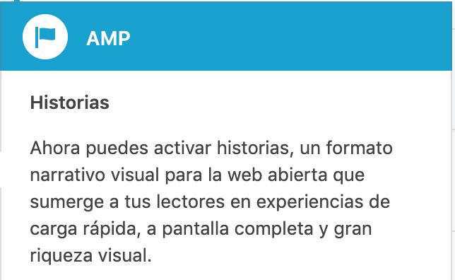 Historias AMP Stories