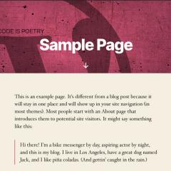 Twenty Twenty: El nuevo tema por defecto de WordPress usará fuentes variables …y ya puedes probarlo