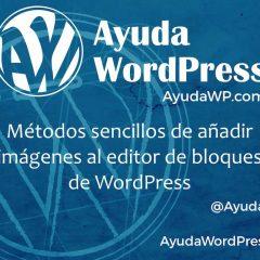 Los métodos más rápidos para añadir imágenes en el editor de bloques de WordPress