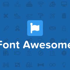Cómo añadir iconos de Font Awesome a tus menús y dónde quieras sin plugins