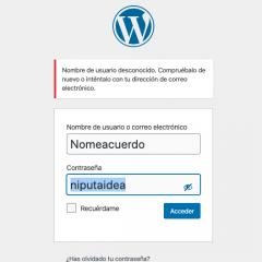 Cómo acceder a administrar WordPress sin contraseña ni usuario ¡Ojo, peligro mortal!