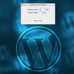Cómo separar archivos XML exportados de WordPress en varios más pequeños