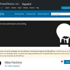 ¿Puedo usar plugins que no se han probado con las últimas versiones de WordPress?