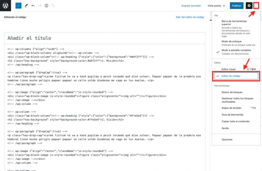 Como criar padrões de blocos sem saber como programar uma única linha de código • Ajuda do WordPress 7