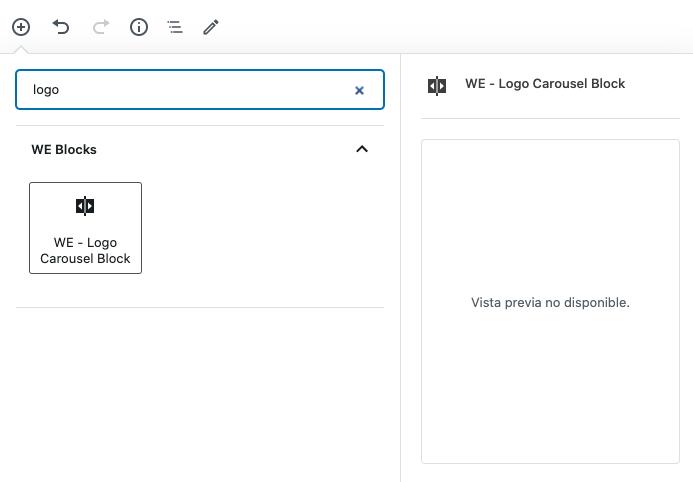 Como fazer um carrossel com logotipos no WordPress • Ajuda do WordPress 19