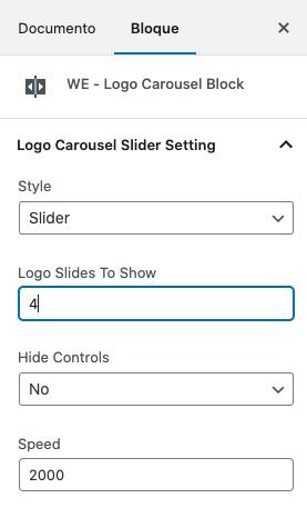 Como fazer um carrossel com logotipos no WordPress • Ajuda do WordPress 23