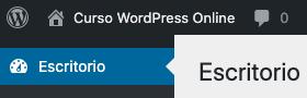 Como remover ou alterar o logotipo da barra de administração do WordPress • Ajuda do WordPress 11