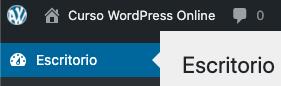 Como remover ou alterar o logotipo da barra de administração do WordPress • Ajuda do WordPress 13